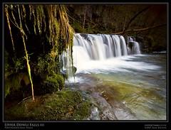 Upper Ddwli Falls III (Sean Bolton (no longer active)) Tags: longexposure fall water wales river flow waterfall weed fingers cymru splash pontneddfechan seanbolton ffotocymrucouk pontneathvaughan