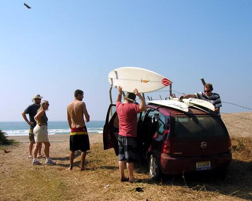 Arroyo Seco surfers