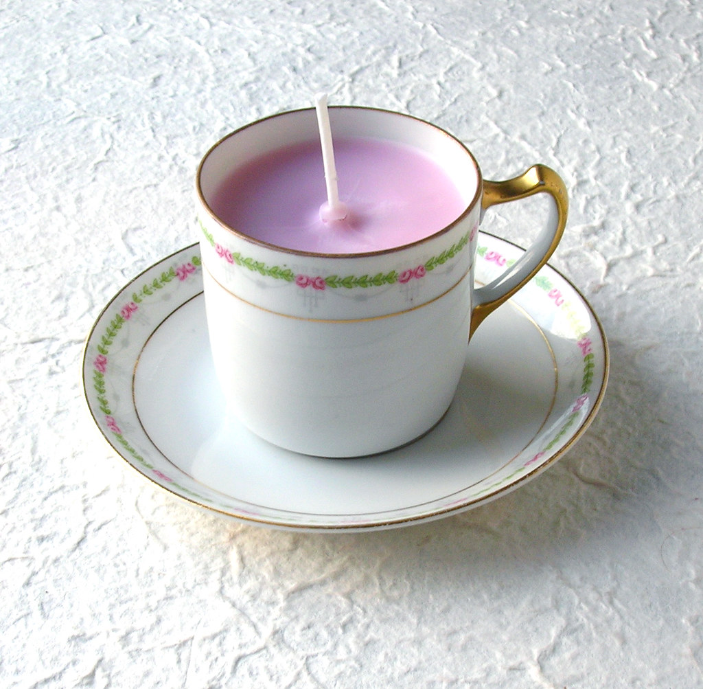 Love Spell Demitasse Soy Teacup Candle