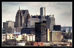 downtown detroit (s o u t h e n) Tags: abandoned station skyline architecture nikon downtown skyscrapers ryan decay michigan detroit urbanexploration trainstation depot windsor d200 michiganavenue mcd hdr highdynamicrange mcs detroitriver guardian penobscot 2007 density ue rencen renaissancecenter urbex 313 detroitmichigan traindepot downtowndetroit motown corktown motorcity mexicanvillage michigancentralstation guardianbuilding mexicantown penobscotbuilding comericatower dimebuilding detroitskyline fortshelbyhotel michigancentraldepot photomatix urbanexplorers nikond200 southen onewoodward ryansouthen gmrencen gmrenaissancecenter onedetroitcenter onetoomanytags