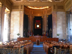 Louisiana State Senate Chamber