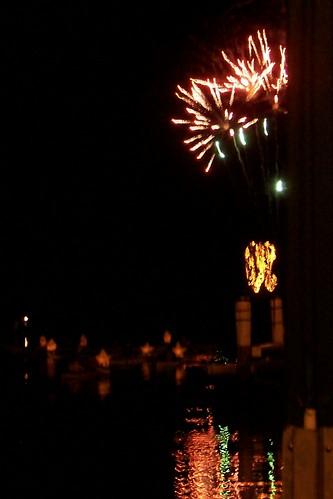 Fireworks Australia Day 2008 Woy Woy