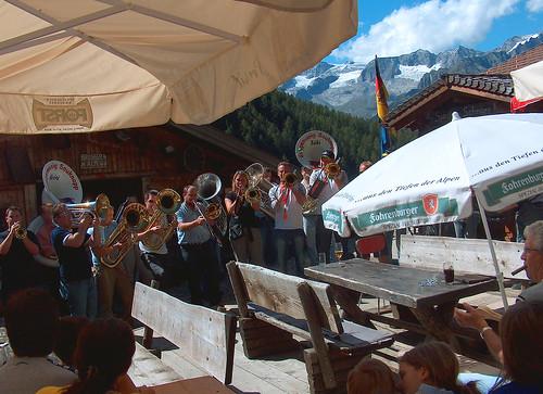 Concerto alla malga in Alto Adige