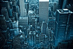 New York City Skyline (GHD PHOTOGRAPHY & DESIGN) Tags: new york city nyc newyorkcity blue urban newyork building skyline architecture photoshop buildings landscape gold star see cityscape rockefellercenter surreal award center it adobe rockefeller hdr 2007 lightroom a700 i 1xp singleraw hdrfromasingleraw anawesomeshot dslra700 goldstaraward life~as life~asiseeit dslra700sonyalphaa700