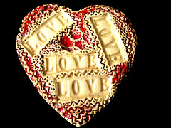 Happy Valentine's Day! My handmade ceramic. (ArtsySF©Marjie) Tags: copyright flickr all © explore rights reserved ©artsysf artsysf©