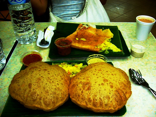 Puri Bhaji and Masala Dosa