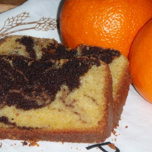 cake à l'orange et au chocolat