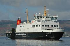 MV Argyle (Sea Pigeon) Tags: ferry bay scotland clyde calmac wemyss bute rothesay