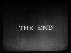 THE END (Dill Pixels) Tags: bw cinema film topv111 movie screenshot silent theend end titles busterkeaton mywifesrelations