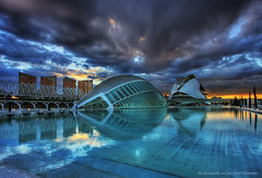 The day that the sky crashed down at the City of Arts and Sciences (Salva del Saz) Tags: city blue santiago sunset sky espaa house reflection water valencia azul architecture canon reflections dark atardecer eos reina spain arquitectura edificios agua opera bravo moody cloudy sofia dusk magic edificio arts dramatic overcast ciudad cielo calatrava collapse reflejo nublado baroque crepusculo tones magical artes 1022mm palau hdr highdynamicrange sciences 1022 reflejos palacio barroco ciencias magica hemisferic efs1022mm caer 3xp tonos oscuros crashdown dramatico dramatismo 40d salvadordelsaz salvadelsaz bratanesque alemdagqualityonlyclub lovedramaticskies derrumbarse desplomado lovemyefs1022mmlenses loveisthekeyloveistheanswer yilhlm