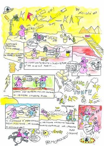 Krazy Kat tribute by Italian schoolchildren - page 4