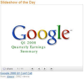 google-summary-slideshare