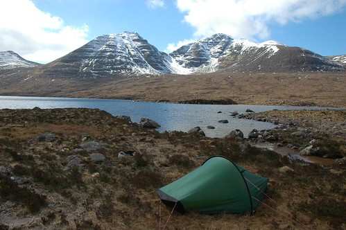 Home for a couple of days and Baosbheinn