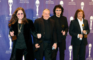 Black Sabbath at the Rock 'n' Roll Hall of Fame