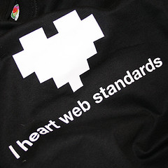 I heart Web Standards