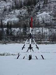 Nenana Ice Classic - Tripod on the Tanana River (2008)