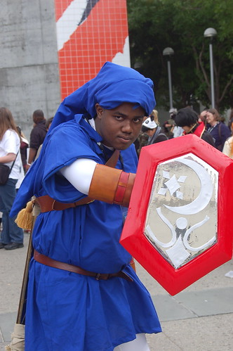 Outside Fanimecon 2008: Link