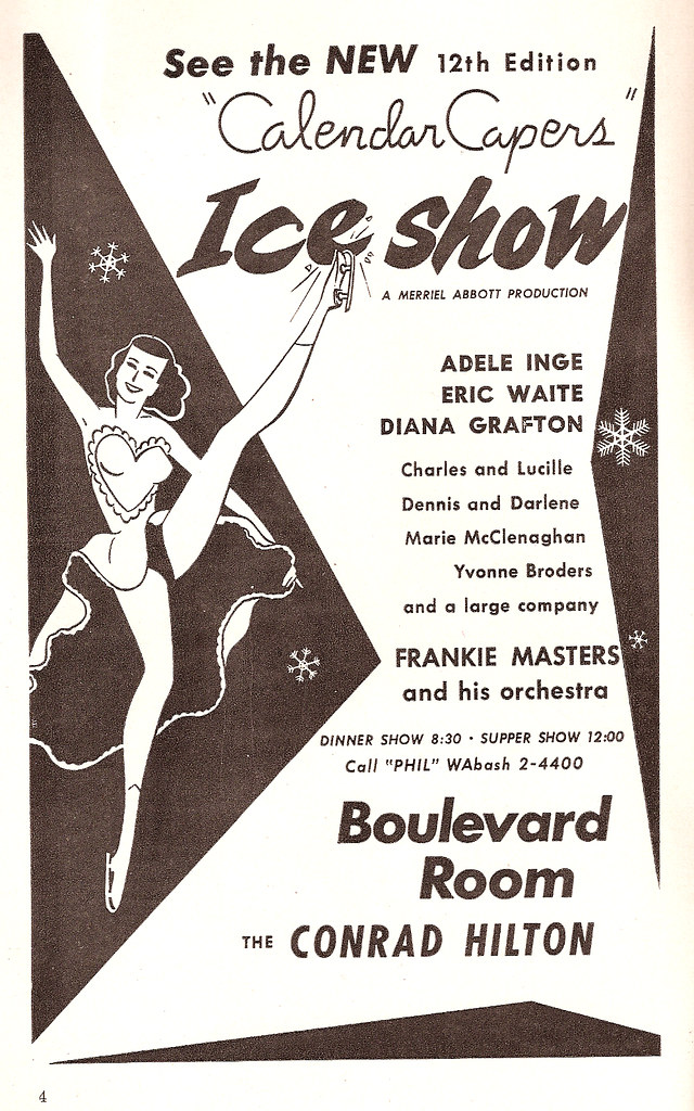 Ice Show at the Hilton (Stevens) Hotel