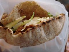 Ghazale's falafel sandwich