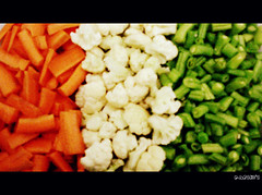 Colors of Freedom... [Explored #169] (D a r s h i) Tags: india white green nature colors vegetables freedom flag indian tricolor veggies independance pune saffron independanceday darshi darshita
