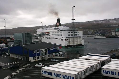 Ferry in Torshavn