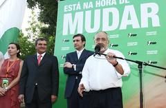Pedro Passos Coelho em Festa Popular em Santarém