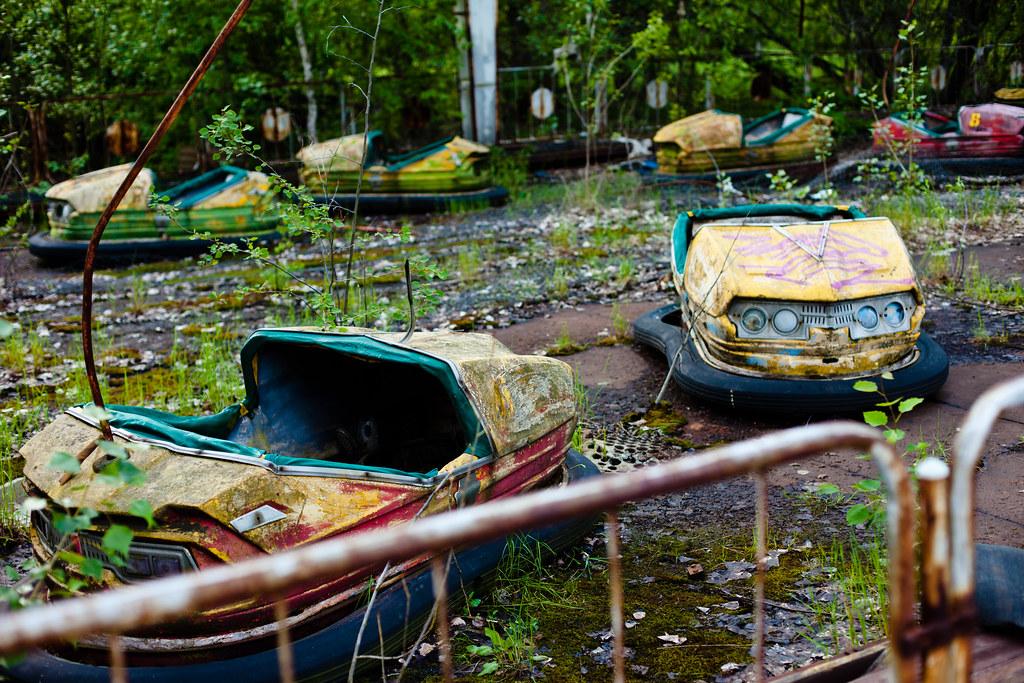 Chernobyl: Bumper cars
