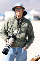 Happy Camper (jurvetson) Tags: desert weekend spyshot candid nevada balls happiness rocket launch bonheur blackrock hpr highpowerrocketry balls16