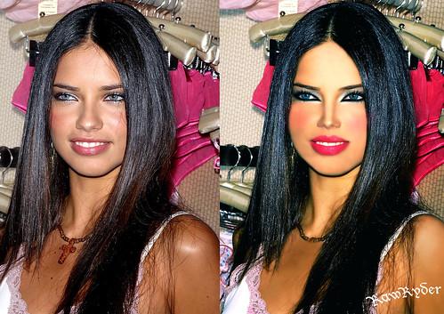 Adriana Lima new style
