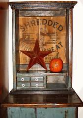 Vintage Blue Cabinet