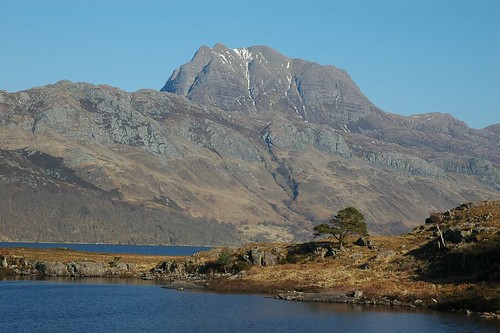 Slioch on the drive home