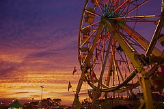 Coastal Carolina Fair Sunset
