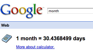 Google Month