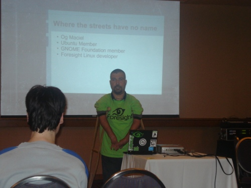 My presentation at FossCamp