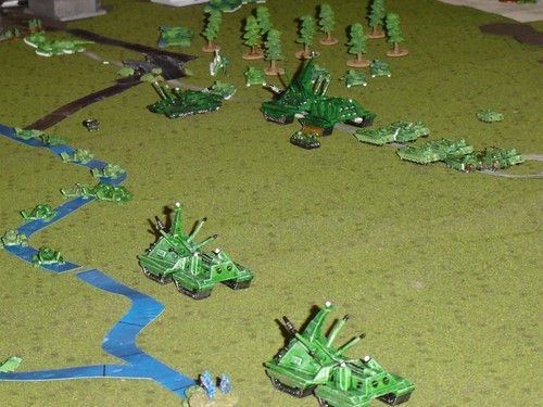 Massive Ogre assault on Canal Bridge