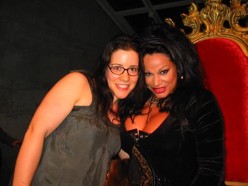 With Vanessa del Rio!