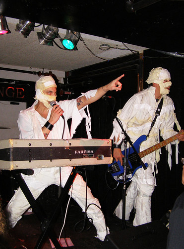 The Coffin Lids as The Mummies