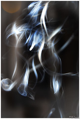 "Smoke dreams from ""smoke rings"", incense smoke:-)... (Magda'70) Tags: blue nikon smoke creative dream creation dreams d200 incense 2007 mistic dym incensesmoke aplusphoto zymon kadzidlo excapture"