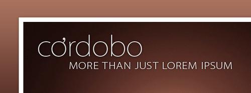cordobo - more than just lorem ipsum