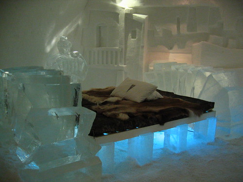 Ice Suite 302- Ice Hotel - Sweden by charley1965.