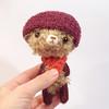Mimo (knitting dreams) Tags: bear japanese miniature fuzzy handmade crochet felt kawaii blythe etsy amigurumi needlecraft