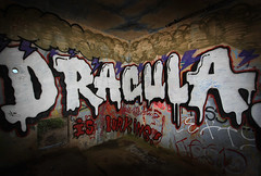 Dracula is Lurking (4Durt) Tags: graffiti dracula