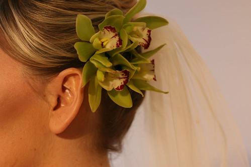 flower and veil