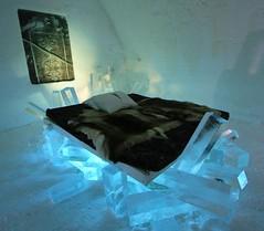IMG_2933 (gezzajax) Tags: blue snow cold art ice water architecture reindeer design bed sweden freezing arctic e freeze lapland northern dogsledding kiruna icehotel arcticcircle jukkasjrvi snowmobil torne reindeerskin rivertorne