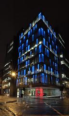 Glasgow_20080122_offices (haveacupoftea) Tags: uk light window night scotland office glasgow sentinel