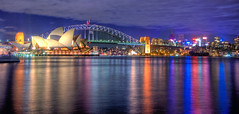 Sydney Opera house HDR Sydney Australia (Linh_rOm) Tags: panorama d50 landscape nikon australia lightreflection recent hdr sydneyoperahouse cs3 sydneyaustralia 18200mm photomatix sydneyhabour digitalblending sydneyhabourbridge lowlightimage 18200vr australialandscape australia2008 sydney2008operahousebridge 18200mmnikon sydneyoperahouse2008 sydneynightshot