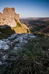 Carreg Cennen(7) (Sean Bolton (no longer active)) Tags: castle history wales carmarthenshire cymru ruin historic fortification fortress blackmountain carregcennen llandeilo cadw dyfed seanbolton ffotocymrucouk deheubarth castellfarm