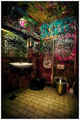 Estuvieron aquí (Ibai Acevedo) Tags: color colour love water copenhagen denmark idea amor interior tag indoor wc hate lavabo odio