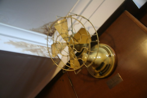 Non-Operational Fan and Water Damage