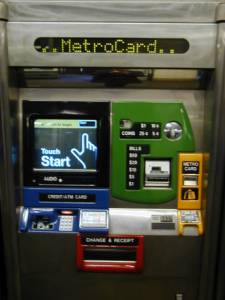 MetroCard Vending Machine